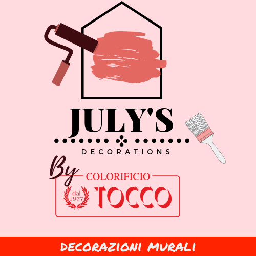 logo july's decoration